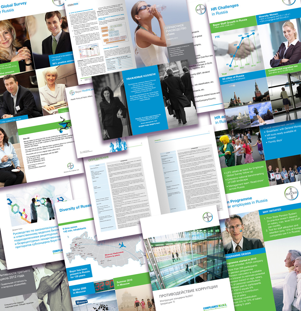 Bayer Printed Projects